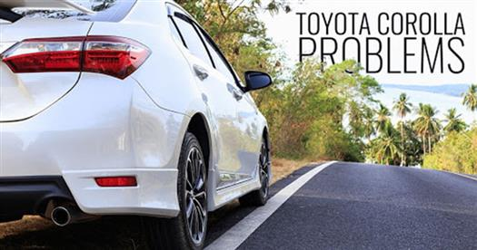 common-toyota-corolla-problems-you-might-encounter