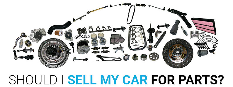 Sell a Car for Parts - Is Parting Out Really Worth It?