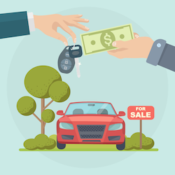 Income Tax on a Car Sale