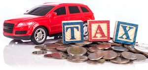 Selling Car Tax